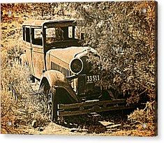 Parked 3 Acrylic Print by Leland D Howard