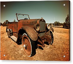 Parked 4 Acrylic Print by Leland D Howard