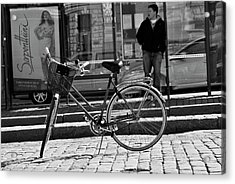 Parked Acrylic Print by Frederico Borges