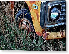 Acrylic Print featuring the photograph Parked Fuel Oil Truck by Greg Jackson
