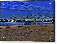 Acrylic Print featuring the photograph Parkersburg Point Park by Jonny D