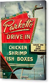 Parkette Drive-in Acrylic Print