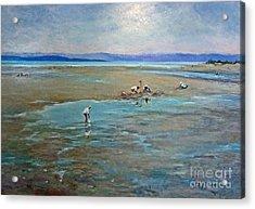 Parksville Beach Acrylic Print by Jessamine Barron