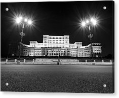 Parliament Building Acrylic Print by Ioan Panaite