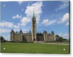 Parliament Hill, Peace Tower, Ottawa Acrylic Print