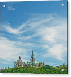 Parliament On The Hill, Ottawa Acrylic Print