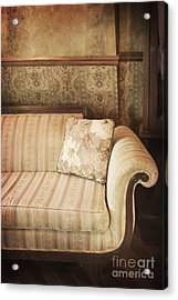 Parlor Seat Acrylic Print by Margie Hurwich