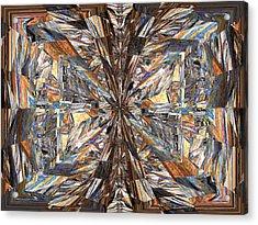 Parquet Mania Acrylic Print by Tim Allen