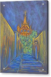 Parroquia From The Back Acrylic Print by Marcia Meade