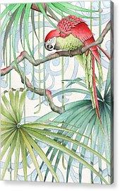 Parrot, 2008 Acrylic Print
