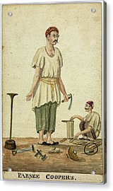 Parsee Coopers Acrylic Print by British Library