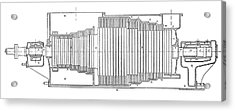 Parsons Marine Turbine Acrylic Print by Science Photo Library
