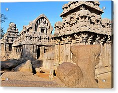 Part Of The Five Rathas Complex Acrylic Print