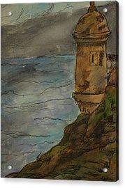 Parte Del Morro Acrylic Print by Amanda Morales