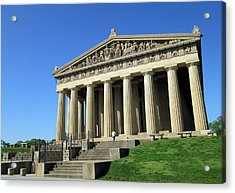Parthenon At Nashville  Acrylic Print