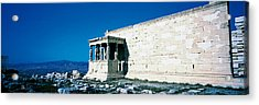 Parthenon Complex Athens Greece Acrylic Print by Panoramic Images
