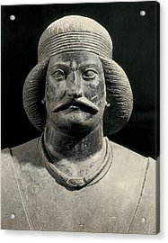 Parthian Warrior From Shami. 1st C Acrylic Print by Everett