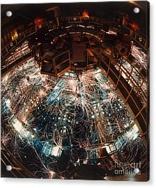 Particle Accelerator Acrylic Print by Science Source