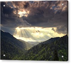 Parting Of The Sky Acrylic Print