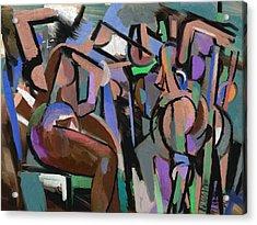 Acrylic Print featuring the digital art Partita by Clyde Semler