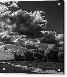 Partly Cloudy Acrylic Print by Edward Khutoretskiy
