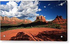 Acrylic Print featuring the photograph Partly Cloudy With A Chance Of Scenery by Gary Kaylor