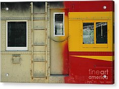 Partly Painted Acrylic Print by Dan Holm