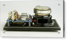 Parts Of A Loudspeaker Acrylic Print by Dorling Kindersley/uig