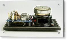 Parts Of A Loudspeaker Acrylic Print