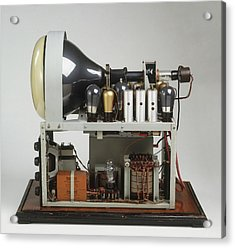 Parts Of A Television Set Acrylic Print by Dorling Kindersley/uig