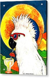 Party Parrot 1 Acrylic Print