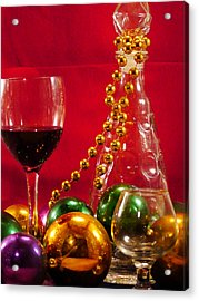 Party Time Acrylic Print by Anthony Walker Sr