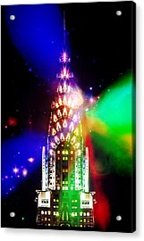 Party Time Acrylic Print by Az Jackson