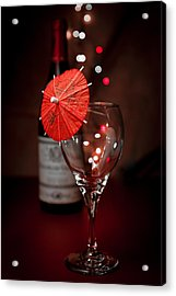 Party Time Still Life Acrylic Print by Tom Mc Nemar