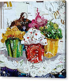 Party Time Acrylic Print by Suzy Pal Powell