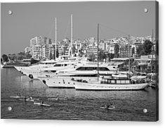 Pasalimani Port Acrylic Print