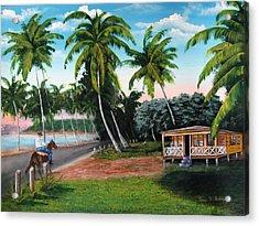 Paseo Por La Isla Acrylic Print