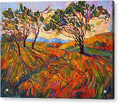 Acrylic Print featuring the painting Paso Mosaic by Erin Hanson