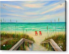 Pass-a-grille Beach Acrylic Print
