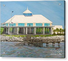 Pass Christian Yacht Club Acrylic Print