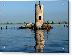 Pass Manchac Lighthouse Acrylic Print