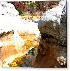 Passage To Color Acrylic Print by David  Norman