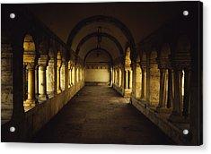 Passageway Acrylic Print by Chris Fletcher
