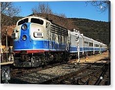 Acrylic Print featuring the photograph Passenger Train by Michael Gordon