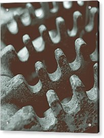 Passing Gears Acrylic Print by Steven Milner