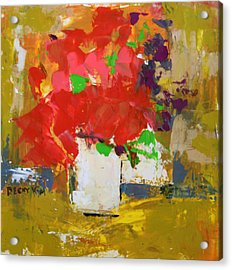 Passion 1 Acrylic Print by Becky Kim