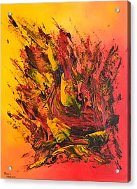 Passion Ardente Acrylic Print by Thierry Vobmann