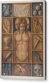 Passion Cabinet Acrylic Print by Paez  Antonio