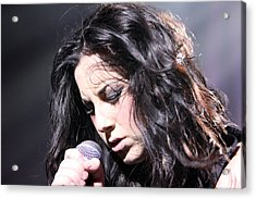 Passion For Singing Acrylic Print by Shoal Hollingsworth