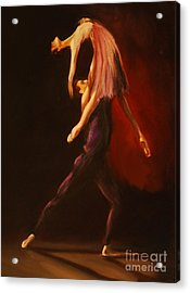 Passion Acrylic Print by Nancy Bradley
